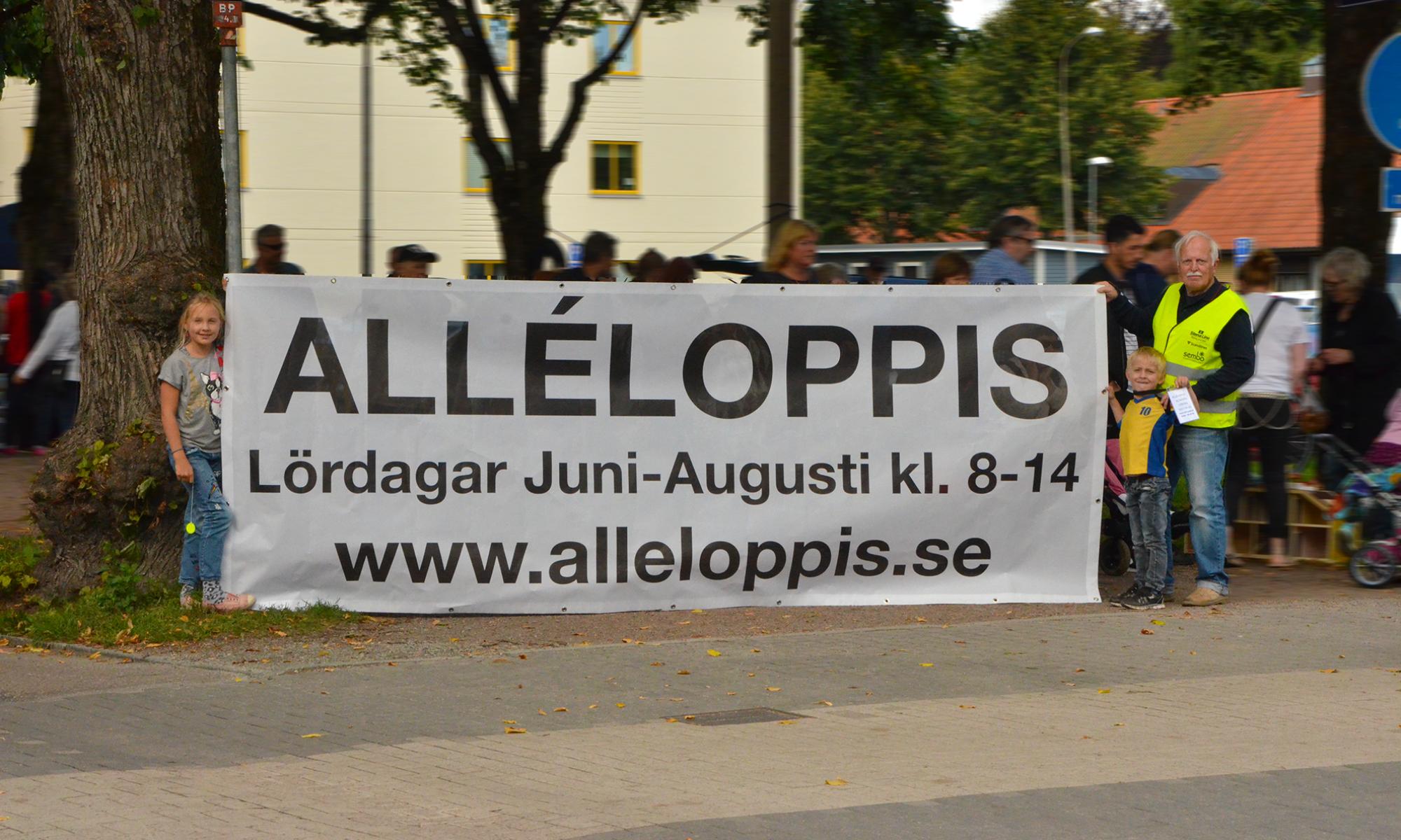 Varmt välkommen till AlléLoppis 2018, nu förlänger vi med 2 helger, 1 & 8 september. Välkomna!